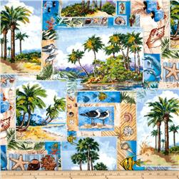 Wild Palms Large Sampler Multi