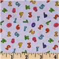 ABC's & 123 Small Numbers Lavender