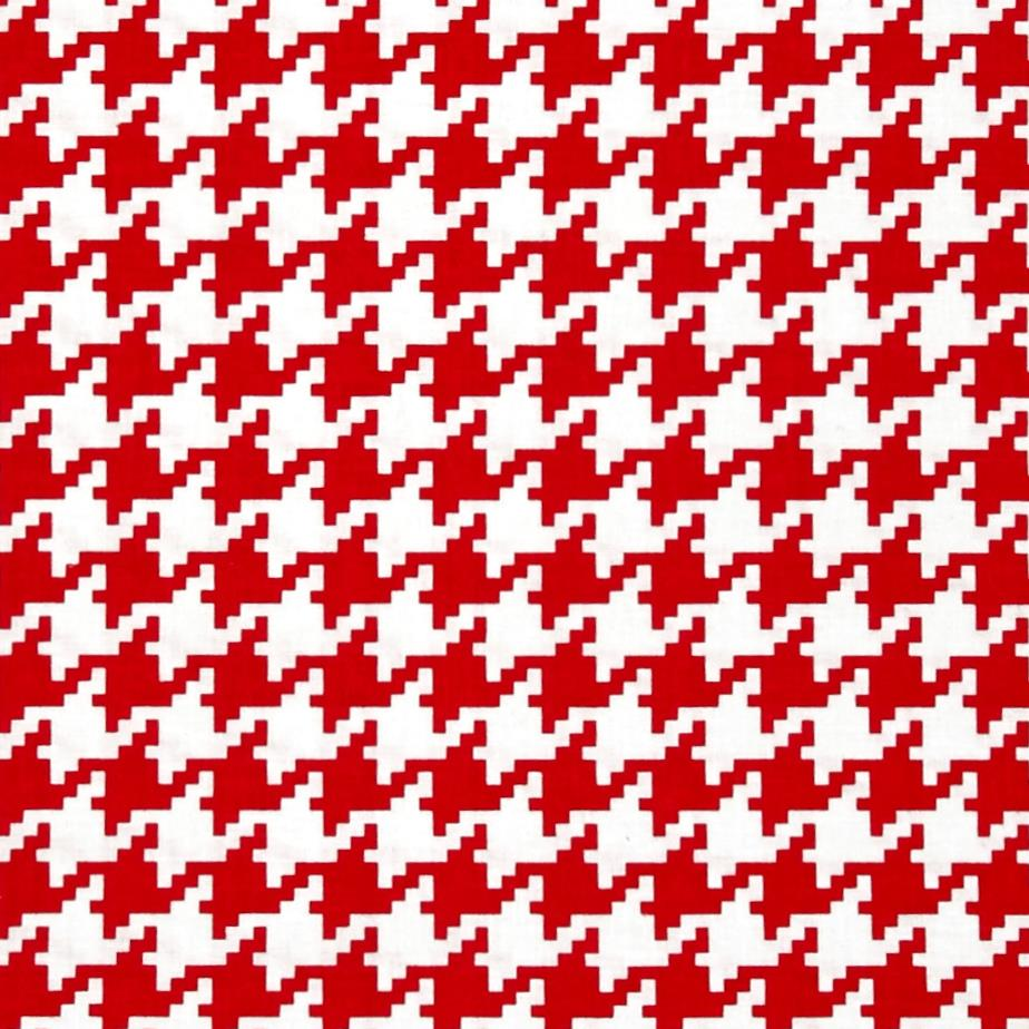 Michael Miller Everyday Houndstooth Red