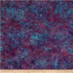 Island Batik Fern Purple/Blue