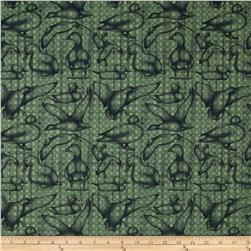 Hunt Club Medium Toss Animals Green