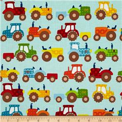 Apple Hill Farm Tractors Blue