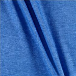 Jersey Knit Solid Porcelain Blue