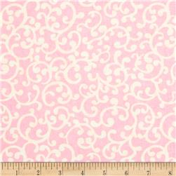 Nursery Rhyme Scroll Pink
