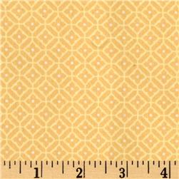 American Bouquet Flannel Geo Plaid Yellow