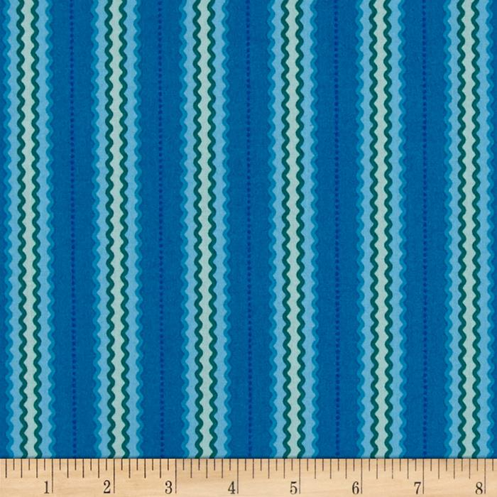 Intrigue Zig-Zag Ribbon Teal