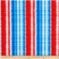 Kanvas Star Spangled Shimmer Stripe Red/Blue