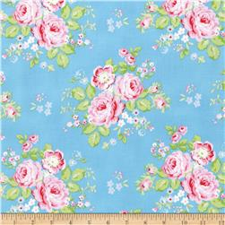 Tanya Whelan Rambling Rose Blue