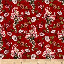 Small Floral Red/Multi