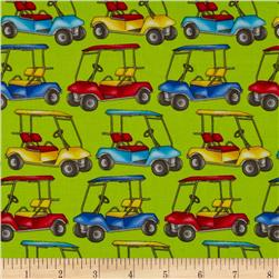 Swing Time Golf Carts Green