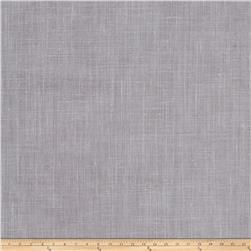 "Fabricut Ginger 129"" Sheer Linen Blend Graphite"