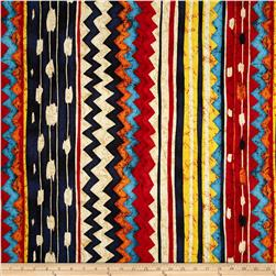 Santa Fe Pow-Wow Kilim Bright Multi