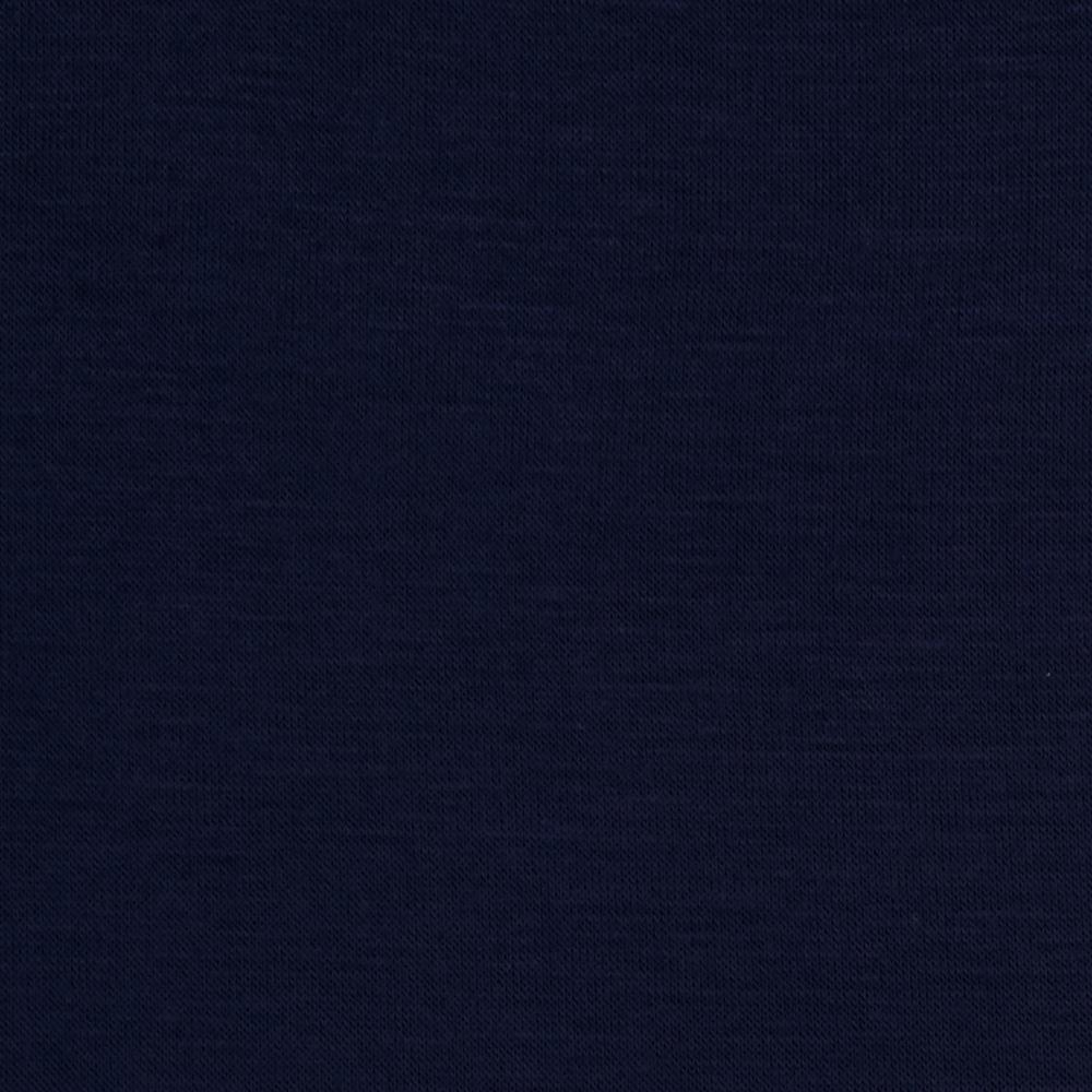 Rayon Spandex Jersey Knit Darkest Blue