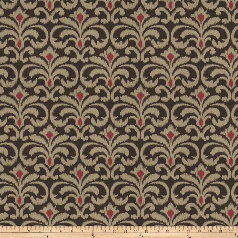 Trend 02703 Jacquard Chocolate Cherry