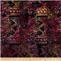Timeless Treasures Tonga Batik Nairobi Tribal Coth Berry