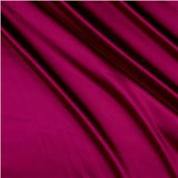 Charmeuse Satin Magenta Fabric