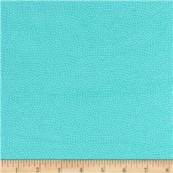 Timeless Treasures Flannel Spin Dot Surf