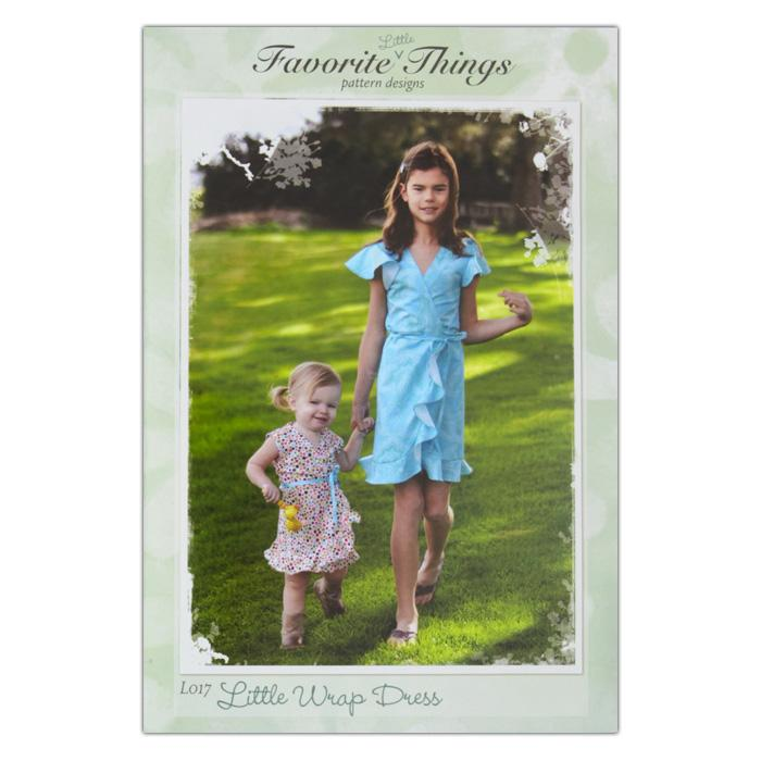 Favorite Little Things The Little Wrap Dress Pattern