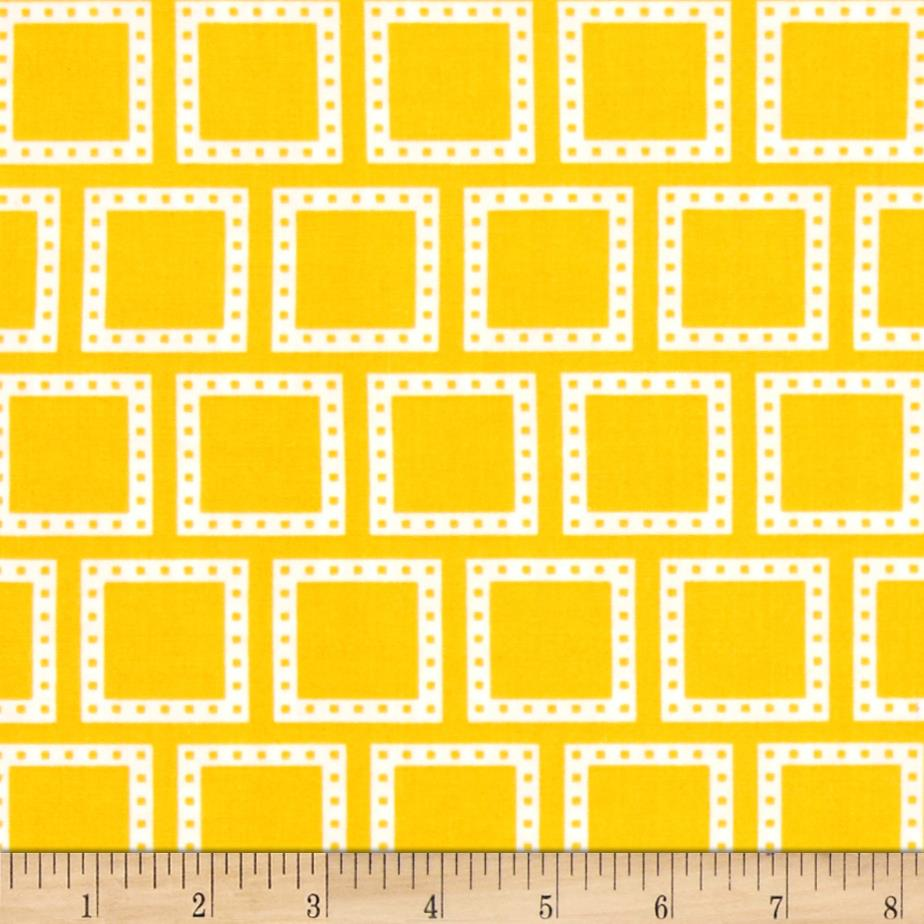 Color Composition Squares Yellow