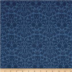 Liberty of London Classic Tana Lawn Mortimer Silhouette Blue