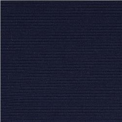 Ribbed Double Knit Navy Fabric