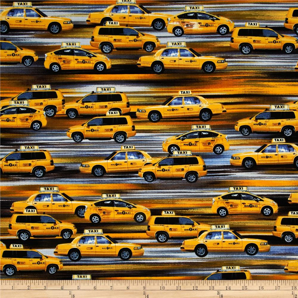 New York State Of Mind Taxi Cab Yellow
