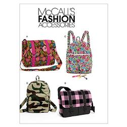 McCall's Backpacks and Bags Pattern M6410 Size OSZ