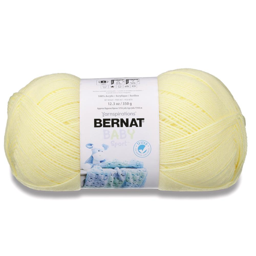 Bernat Big Ball Baby Yarn Baby Yellow