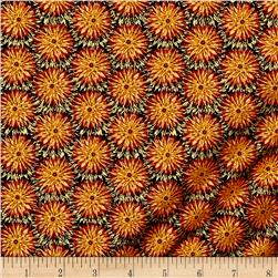 Kanvas Natural Beauty Metallic Thistle Dot Russet
