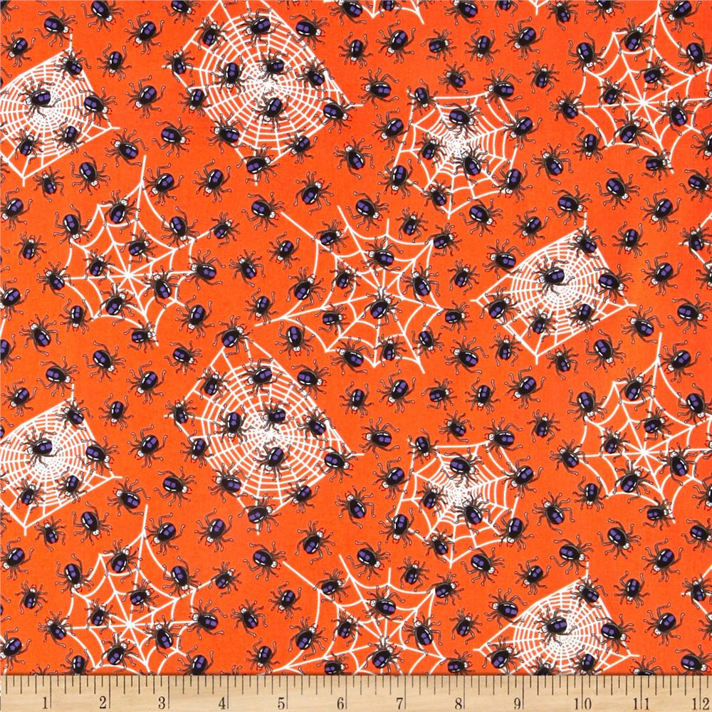 Kanvas Spooktacular Spooky Spiders Orange
