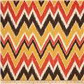 Duralee Home Mell Chevron Flame