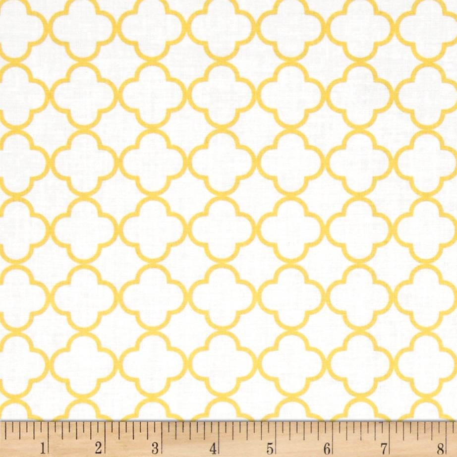 Special Delivery Geometric Yellow