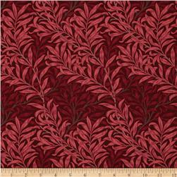 Moda Best of Morris Willow Boughs Red