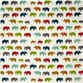 Birch Organic Double Gauze Elephant Fam Multi
