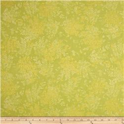 Tossed Ferns Metallic Lime