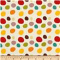 Riley Blake Giraffe Crossing 2 Dots Multi