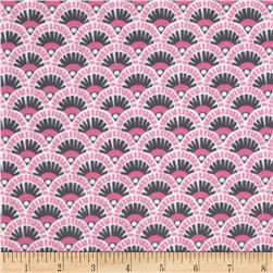 Michael Miller Pastel Pop It's A Girl Thing Flannel Fannie Orchid