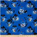Timeless Treasures Cats/Fish Bowls Blue