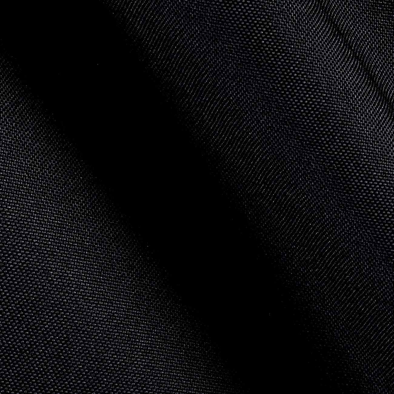 Outdoor Waterproof Oxford Sailcloth Black Fabric by Ben in USA