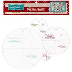 "Lori Holt Circle Ruler Kit 9"", 7"", 4"", 2"""