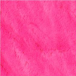 Minky Soft Cuddle Fuchsia Fabric