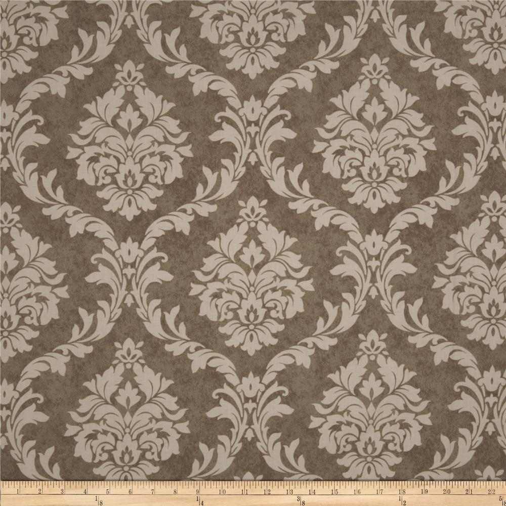 Pirouette French Damask Mocha