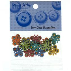 Dress It Up Embellisment Buttons  Sew Cute Butterflies