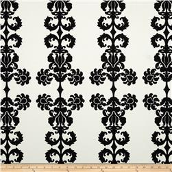 Vicki Payne Home Decor Sateen Damask Black