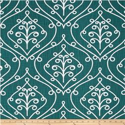 Premier Prints Barcelona Miller Slub Plantation Blue Fabric