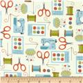 Sew Simple Sewing Collage Multi