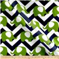RCA Ella Chevron Sheers Blue/Green
