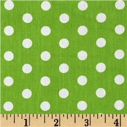 Forever Small Polka Dot Lime