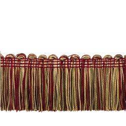 "Trend 2"" 02495 Brush Fringe Crimson"