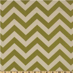 Premier Prints Zig Zag Village Green/Natural